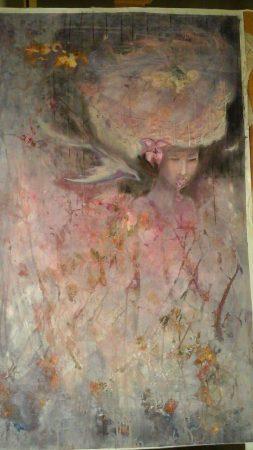 Kirsikankukkia. Anna Vihanto.
