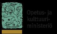 Opetus- ja Kulttuuriministeriön logo